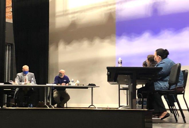 The Waynesboro School Board met Tuesday, Dec. 8, at Waynesboro High School for its monthly meeting.