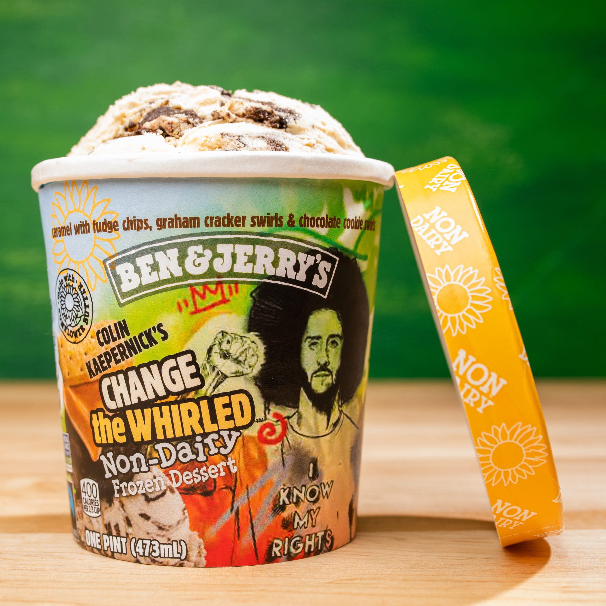 Opinion: Colin Kaepernick's activism moves to freezer section with Ben & Jerry's flavor