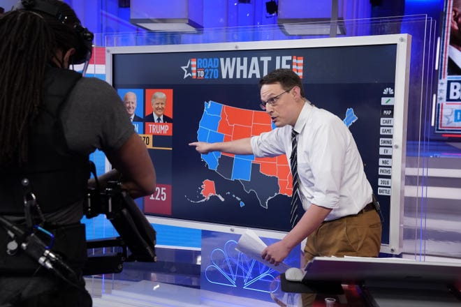 Steve Kornacki breaks down the electoral map on Election Night 2020.