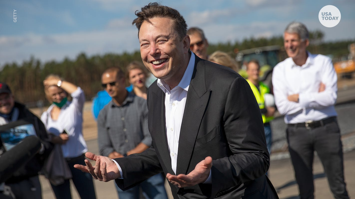 Elon Musk taunts President Biden with 'sleeping' tweet after SpaceX completes mission - Yahoo News