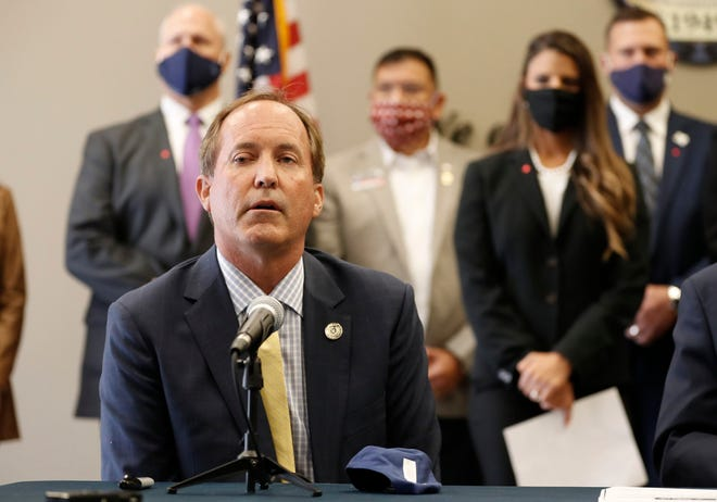 Some readers aren't pleased with Attorney General Ken Paxton's efforts to overturn presidential election results in four battleground states.  [JAY JANNER/AMERICAN-STATESMAN]