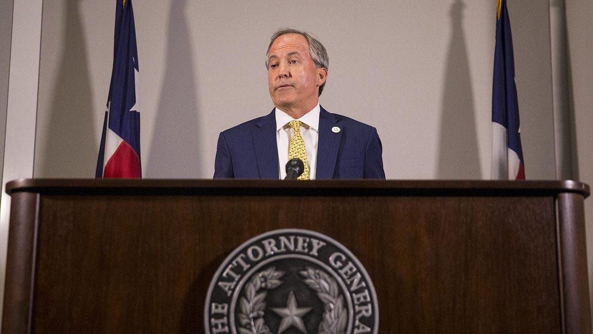 Texas Attorney General Ken Paxton to President Biden: I'll see you in court, frequently