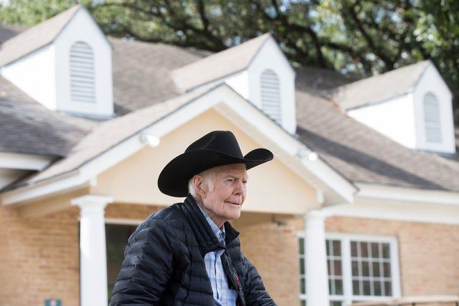 Walter Benson, 103, has been a publisher, breeder, golfer, dancer and World War II vet.