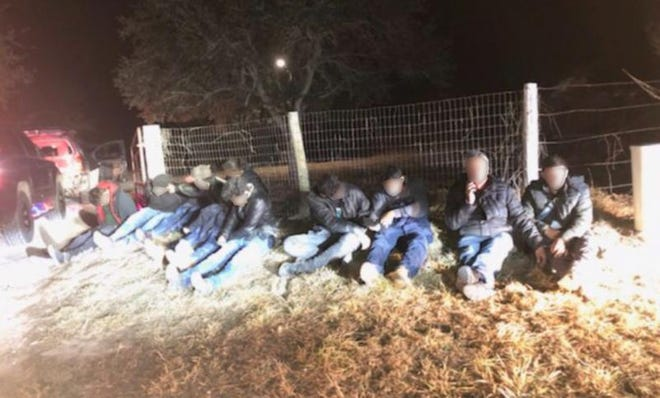 Laredo Sector Border Patrol and Duval County Sheriff's Department Impede Human Smuggling Attempt