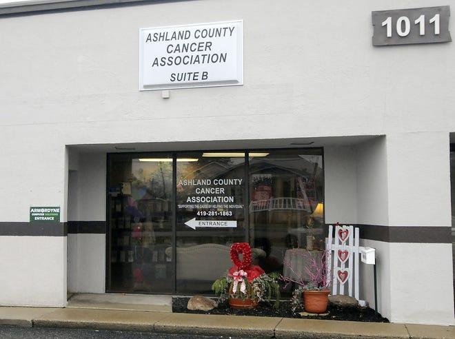 The Ashland County Cancer Association at 1011 E. Main St. in Ashland.