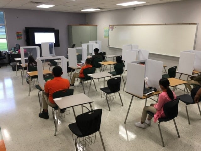 Jasper County School District students will continue remote learning until Jan. 20 after a rise in area COVID-19 cases following the Thanksgiving holiday.
