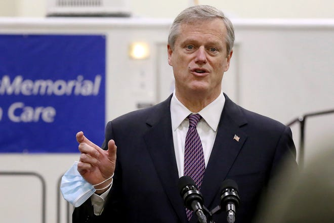"Gov. Charlie Baker said Friday that hospitals are reporting ""overwhelming acceptance"" of the Pfizer/BioNTech COVID-19 vaccines by doctors, nurses and other workers who are eligible to be vaccinated in this first round."