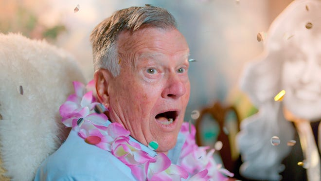 """This image released by Netflix shows Dick Johnson in a scene from """"Dick Johnson is Dead."""" (Netflix via AP)"""