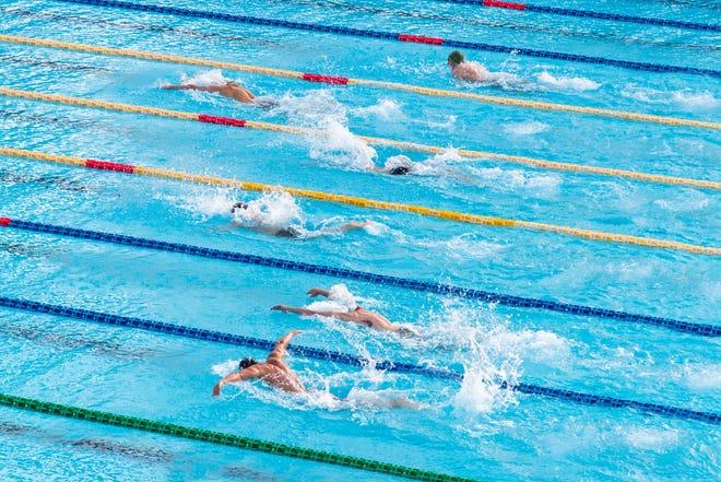High school swimming season opens.