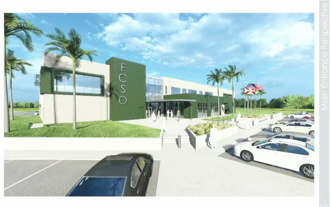 Renderings for the $20 million Flagler County Sheriff's Operations Center in Bunnell.