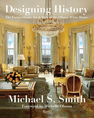 """""""Designing History"""" provides an insider's look at designer Michael S. Smith's collaboration with President Barack Obama and First Lady Michelle Obama on the decor of the White House."""