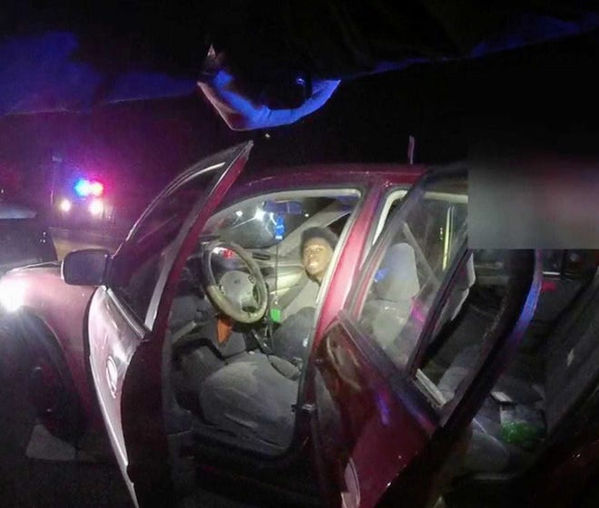 Jacksonville Sheriff's Office body camera video shows Devon Tillman Gregory, 18,  during a Nov. 17 traffic stop on San Juan Avenue.