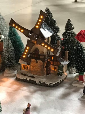 The American Windmill Museum, located at 1701 Canyon Lake Drive, is hosting its Windy City Christmas Village display.
