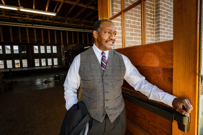Lake Wales Charter Schools Superintendent Jesse Jackson at the new Bok Academy North renovation in Lake Wales. Jackson, who replaced beloved educator Clint Wright after Wright's death in 2008, will be leaving the district at the end of the school year.