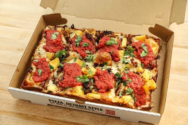 Square Mfg. Co. has opened a restaurant in Natick serving Detroit-style pizza.