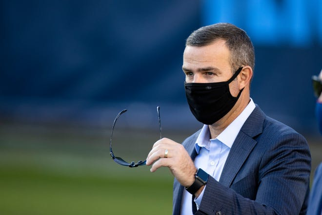 The Buffalo Bills signed Brandon Beane to a multi-year contract extension on Thursday in locking up the architect of a team in position to secure its third playoff berth in four years.