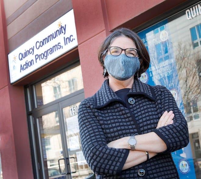 Beth Ann Strollo, CEO of Quincy Community Action Programs, on Thursday, Dec. 10, 2020. Greg Derr/The Patriot Ledger