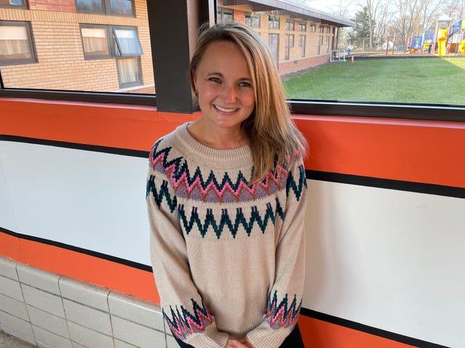 Kristy Elliott, December Teacher of the Month