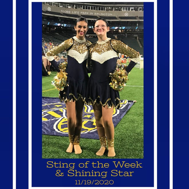 The Stephenville High School Stingerettes recognized freshman Keana and junior Kai for their efforts the week of the Nov. 19 Argyle High School playoff game.