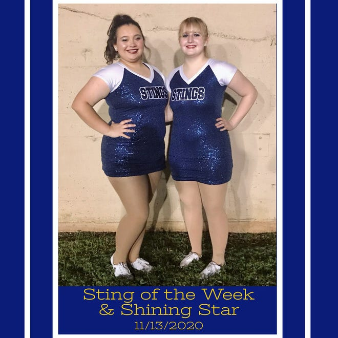 The Stephenville High School Stingerettes recognized junior Makenzie and freshman Ella for their efforts the week of the Nov. 13 at the Benbrook High School playoff game.