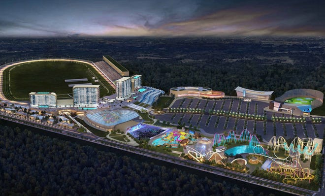 The owners and operators of Atlanta Motor Speedway envision expanding their facility into an entertainment complex to include a horse racing track, casino and more should Georgia legalize gambling.