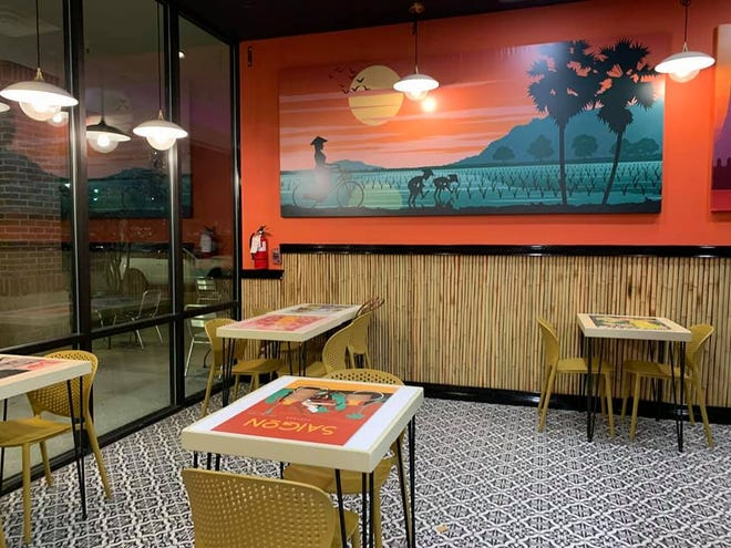 The new Indochine Express location in Monkey Junction is geared for take-out service, but does offer some indoor seating.