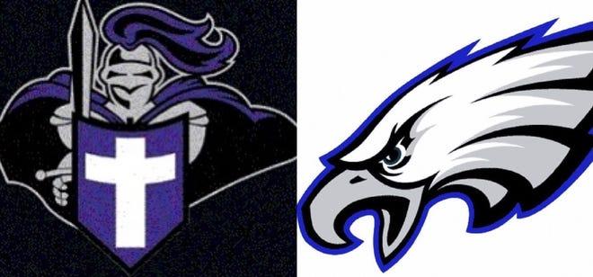 West Bladen, East Bladen logos