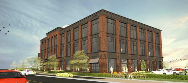 A $6 million mixed-use building is planned at the southeast corner of Polaris Parkway and Meridian Way by Trivium Development LLC.
