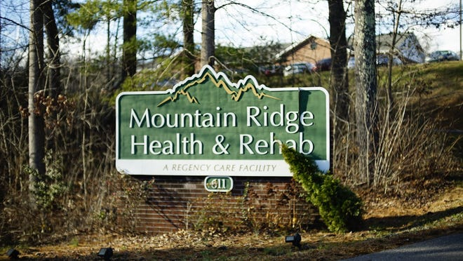Mountain Ridge Health and Rehab is listed by the state as having a COVID-19 outbreak with two staff cases.