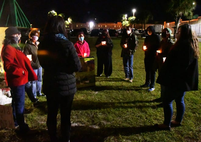 A candlelight vigil was held at the Brevard County jail Wednesday evening on the two year anniversary of Gregory Edwards arrest. On December 9, 2018, Army veteran Gregory Edwards  was arrested and taken to the Brevard County Jail in Sharpes, where he died in Sheriff's Office custody.