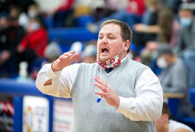 Crestline's Tyler Sanders is in his third year at the helm of the Bulldogs program.