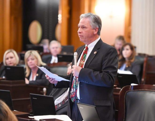 File photo. Ohio Rep. Stephen Hambley. Source: Ohio General Assembly.