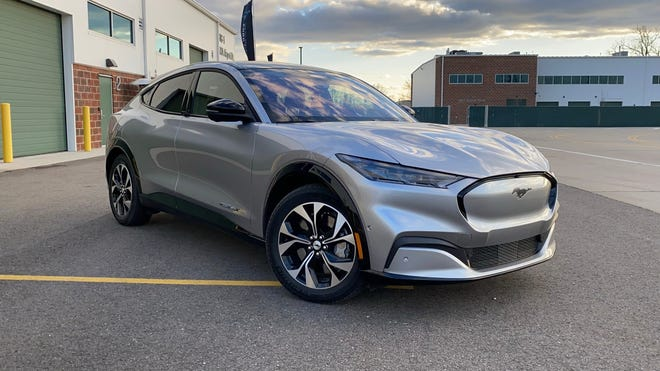 Mustang Charges Into Future With Electric Mach E Suv
