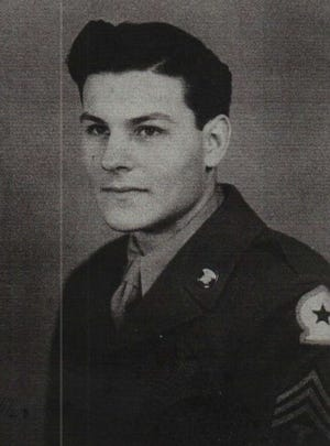 Ned Robinett served in the U.S. Army during World War II.