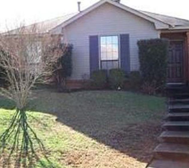 One Station Court patio home in Bell Station is for sale for $108,000 and provides three bedrooms and two bathrooms within 1,086 square feet of living space.