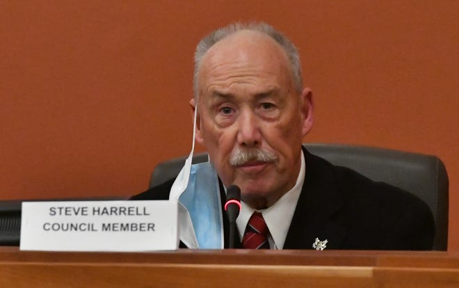 Retired Tulare police lieutenant Steve Harrell said he is honored to be serving his city again as a council member.