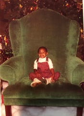 Sometimes you have to kick Santa out of his chair. It's part of the holiday shopping memories I shared with my family.