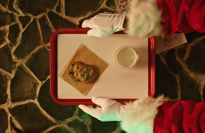 McDonald's is giving away free food leading up to Christmas. On Dec. 24, Santa is the featured iconic holiday character and free cookies are the daily deal.