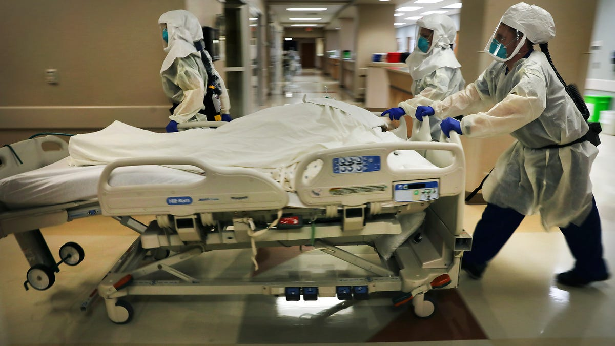 As virus rages, Texas intensive care units at the brink