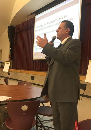 Round Rock school district last month named Daniel Presley as acting superintendent. The move came after Superintendent Steve Flores stepped down in November.