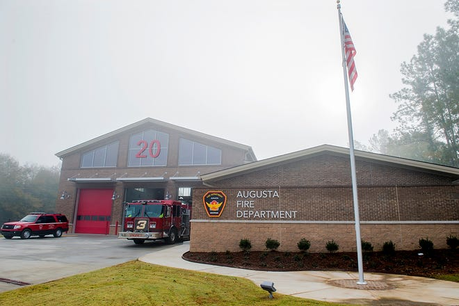 A file photo from December 2020 shows the new Augusta Fire Station 20 in Hephzibah.