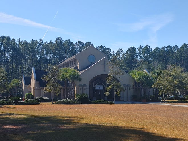 Officials at St. Gregory the Great Catholic Church hope to have the property annexed into the town of Bluffton.