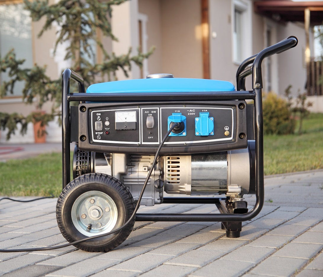How to run your generator safely during a power outage caused by winter storms