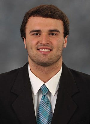 Former Ledford football star Coleman Reich is a redshirt freshman for undefeated Coastal Carolina. [File photo]