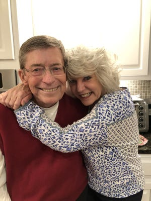 Daytona Beach attorney and civic activist Pete Heebner is pictured with his wife, Nan. Heebner died on Monday after a long battle with cancer. He was 76.