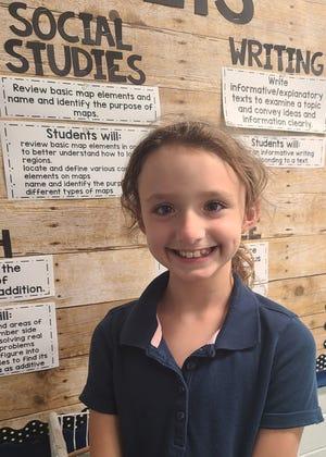 Olivia Petit-Spiller attends Food Brings Hope's KidsZone.