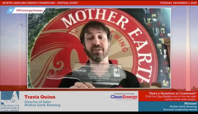 Pictured, Travis Quinn, director of sales for Mother Earth Brewing. [CONTRIBUTED PHOTO]