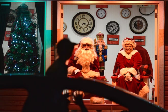 Santa and Mrs. Claus will greet visitors at Santa Land every night through Dec. 23 in Mackenzie Park.
