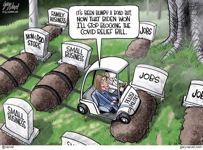Today's editorial cartoon (Dec. 13, 2020)
