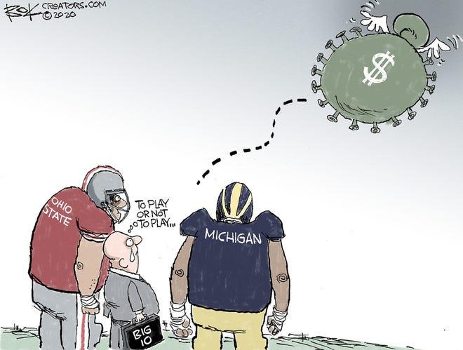 Today's editorial cartoon (Dec. 12, 2020)